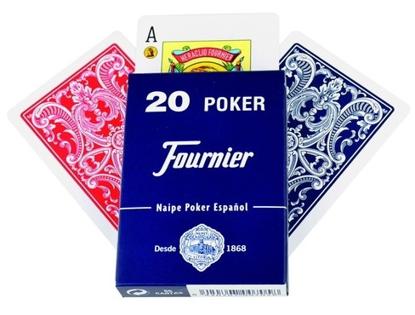 Imagen de Naipes Españoles Poker FOURNIER Nº 20 55 CARTAS